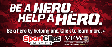 Sport Clips Haircuts of Wexford ​ Help a Hero Campaign